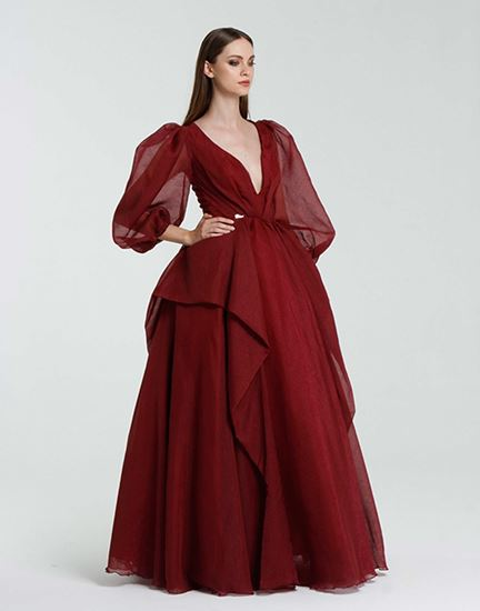 Picture of Long Sleeve evening Dress # 804| Darlana